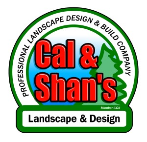 Logo for Cal and Shan's Landscaping and Design Woodstock, IL